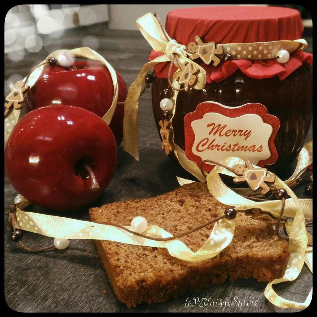 Confiture de Noël Pommes - Pain d'épices