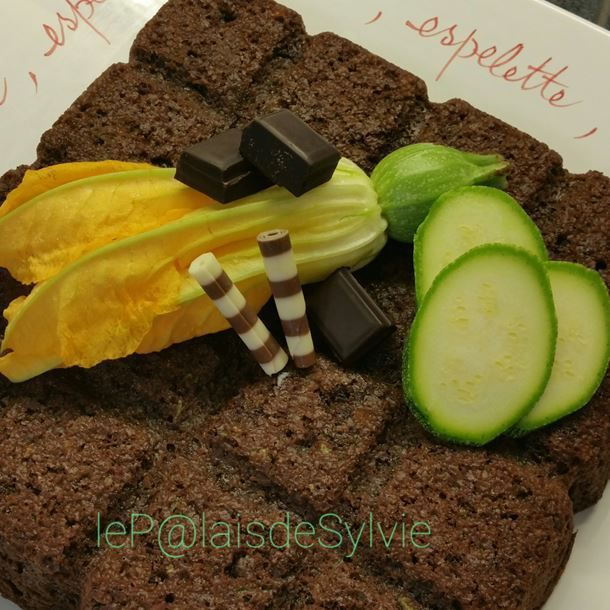 Gâteau Tablette extra-moelleux chocolat courgette