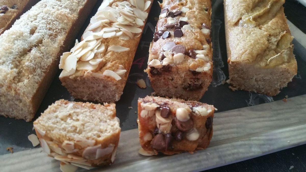 #bananabread #moule5cakeslongsguydemarle #cakebananabread #gateauigbas #healthyfood