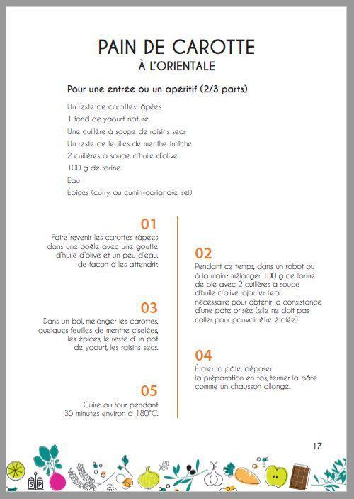 LES RECETTES DE L'ATELIER DU GARDE-MANGER