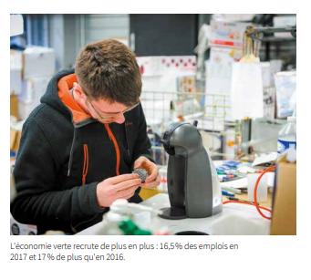 Le recyclage, vivier d'emplois >