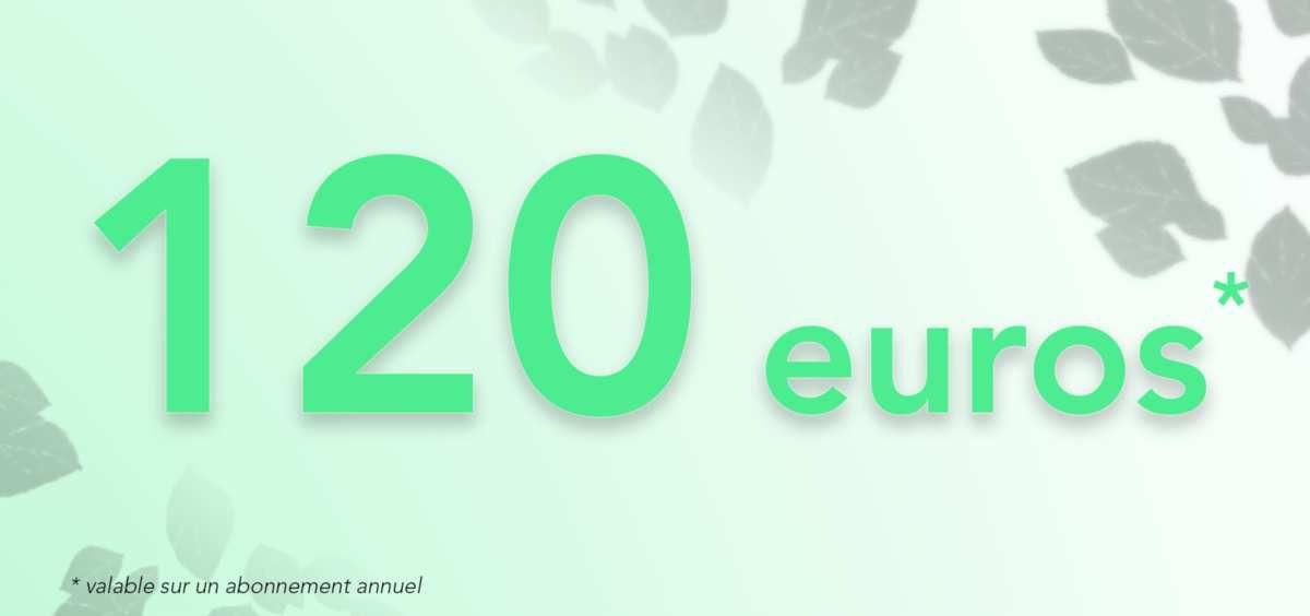 120€ offerts* et sans engagement jusqu'à 8 novembre 2019