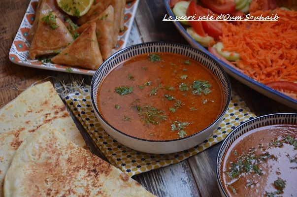 Soupe tunisienne >