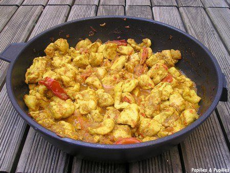 Poulet au curry express >
