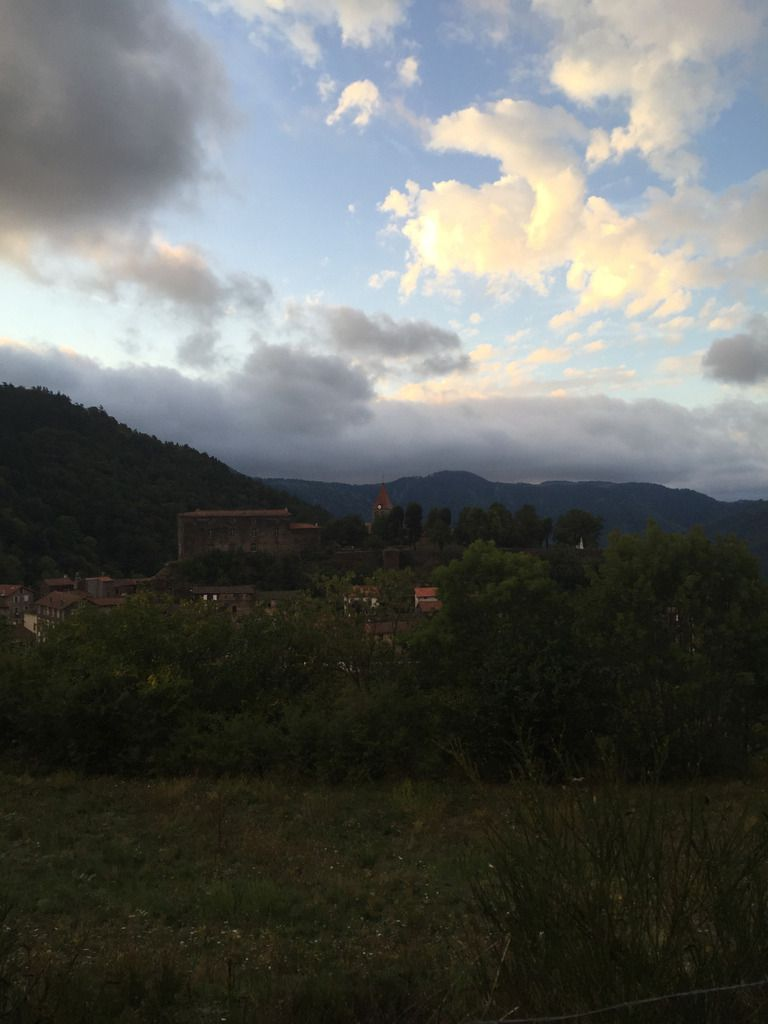 COMPOSTELLE 2015 - JOUR 2 : SAINT-PRIVAT D'ALLIER-LA CLAUZE : 26 kms