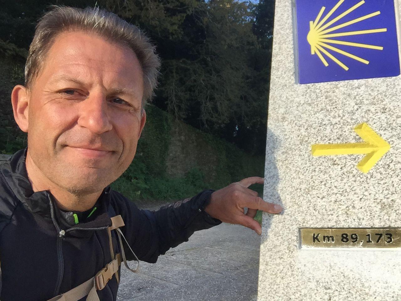 JOUR 27 : SANTIAGO DE  COMPOSTELLA- VILASERIO ( 33 kms)