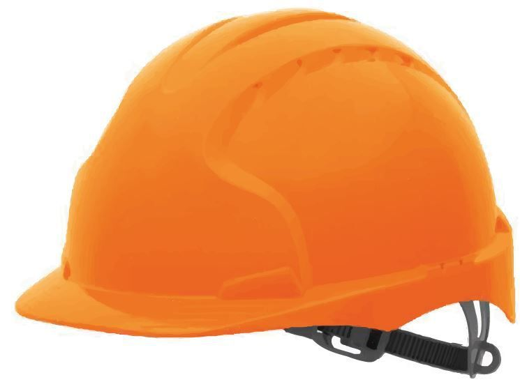 Casque de chantier Marlon 2 - coloris orange
