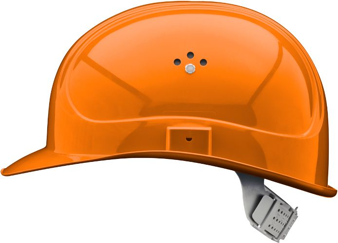 Casque de chantier BOGUEY - Orange