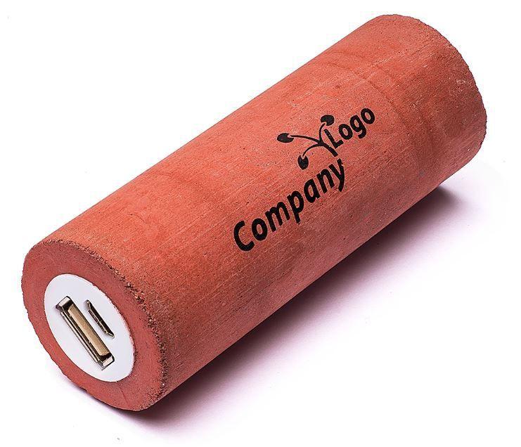 Batterie de smartphone ou tablette fabriqué en béton - idéale pour les activités dans le bâtiment
