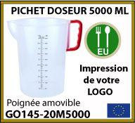 pichet doseur à bec de 5 litres personnalisé - GO145-20M1800