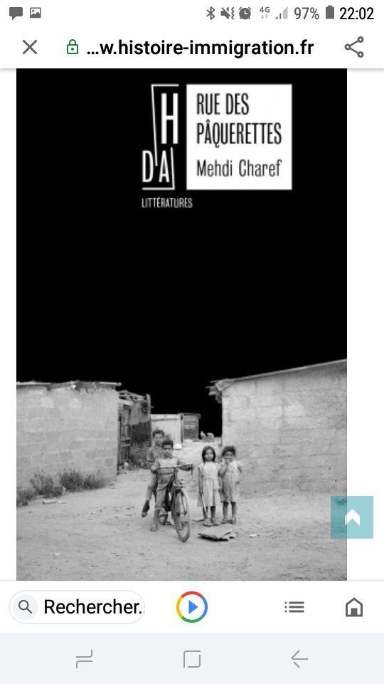 Le lauréat Mehdi Charef pour son roman Rue des Pâquerettes