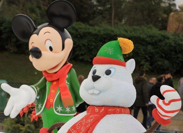 Magie de Noel à Disney début 2016