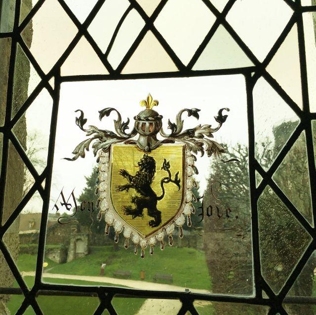 Vitraux du chateau de Dourdan