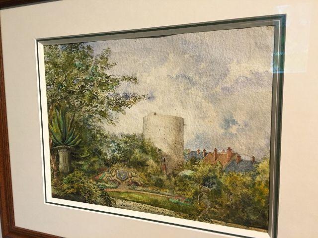 Peintures musée chateau de Dourdan
