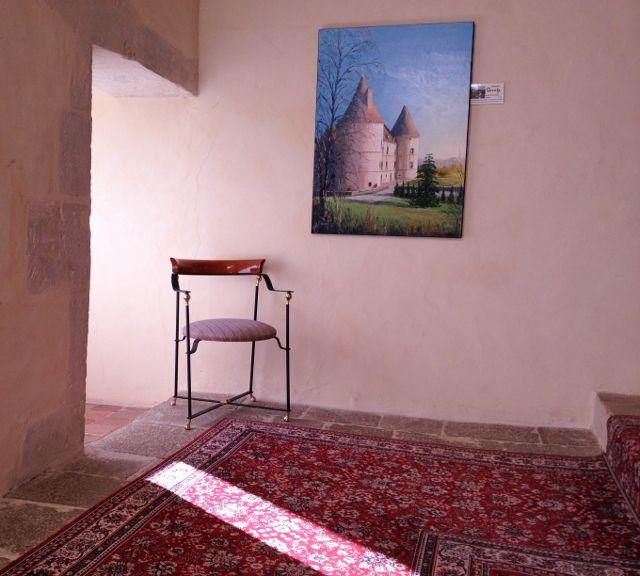 Intérieur chateau de Chailly / Armançon