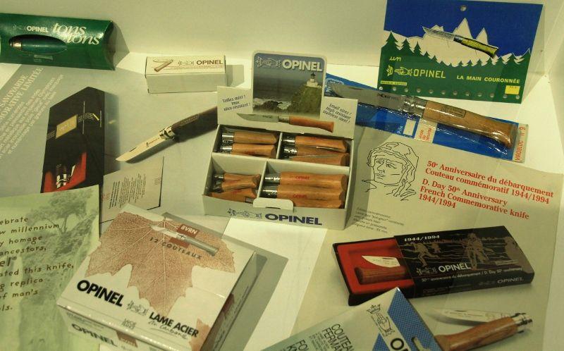 Panoplie de couteaux Opinel