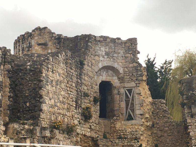 Intérieur chateau fort Brie Comte Robert