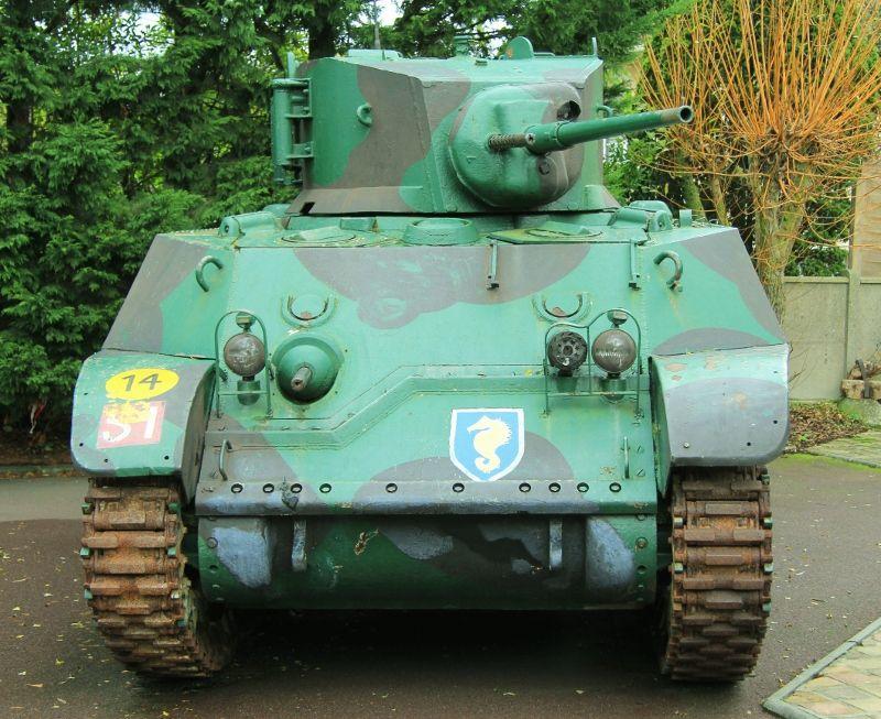 Tanks et barges d'assaut Ouistreham