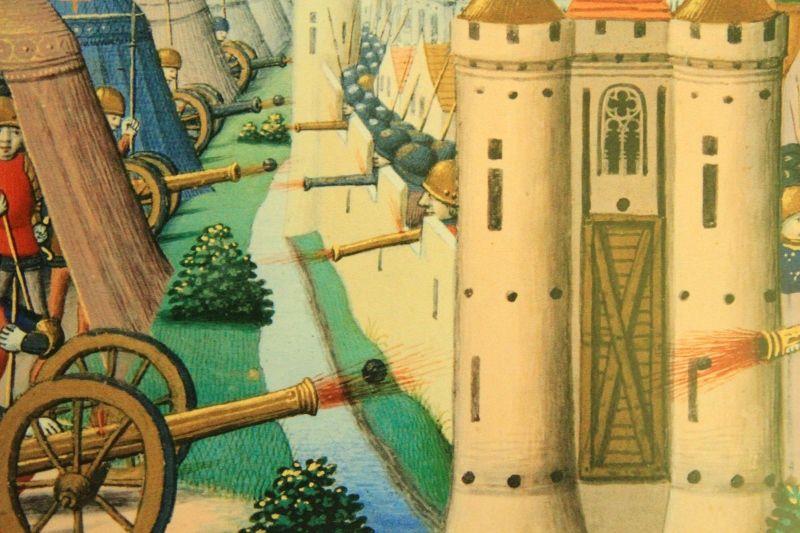 Engins de siéges Expo Chateau Falaise
