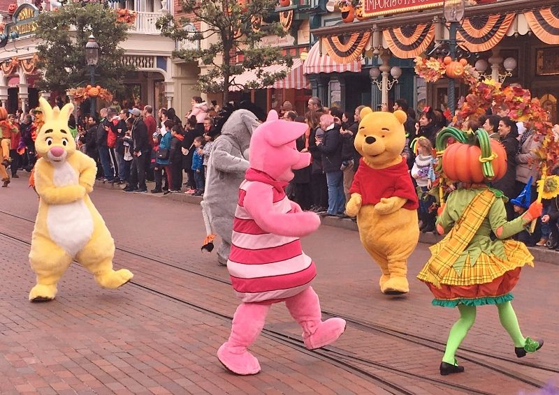 Parade Halloween partie 1