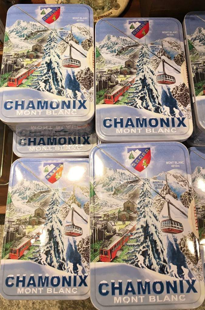 Shopping à Chamonix