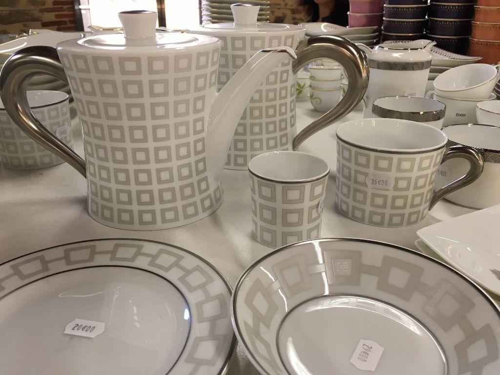 Service à thé Bernardaud Limoges