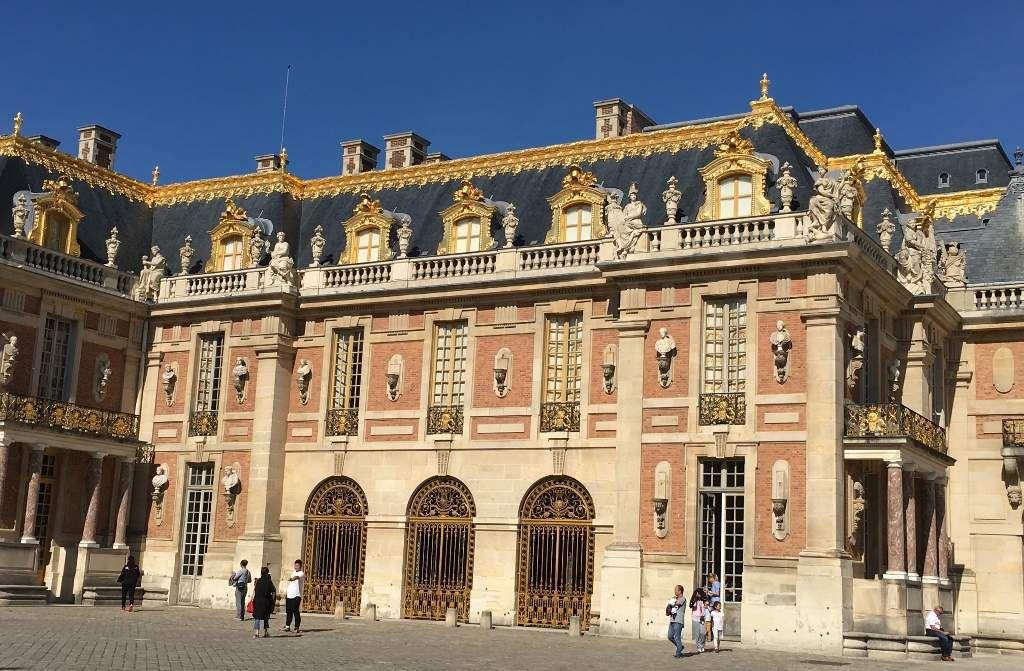Chateau de Versailles extérieur