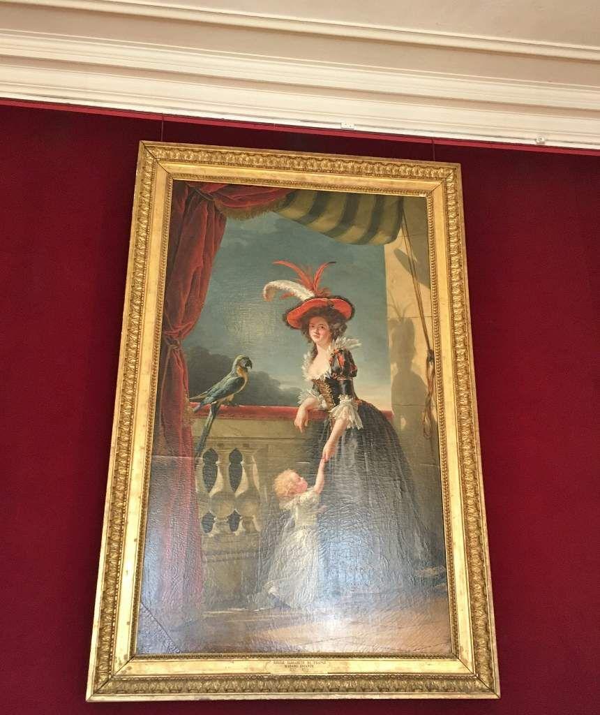 Peintures au Château de Versailles
