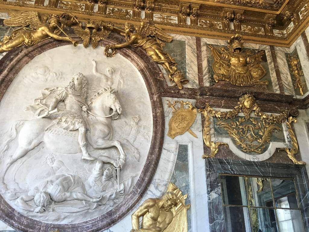 Galerie des glaces Chateau Versailles