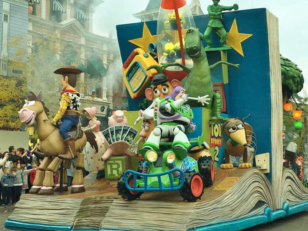 Parade Automne Disneyland