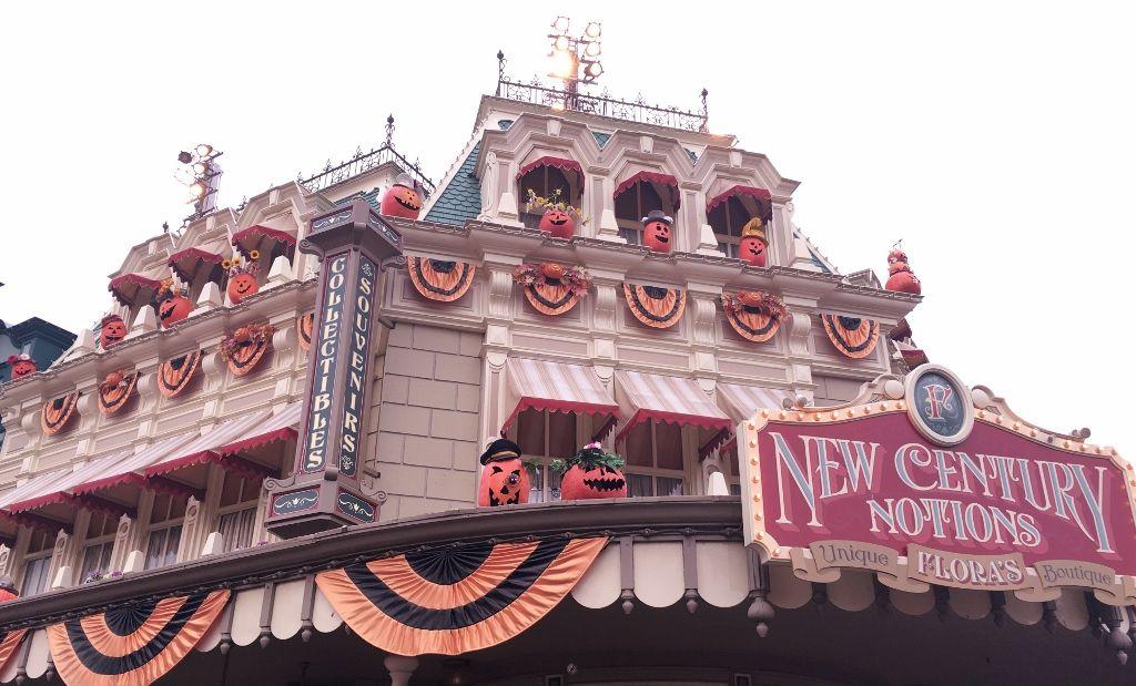 Halloween à Main Street Disneyland