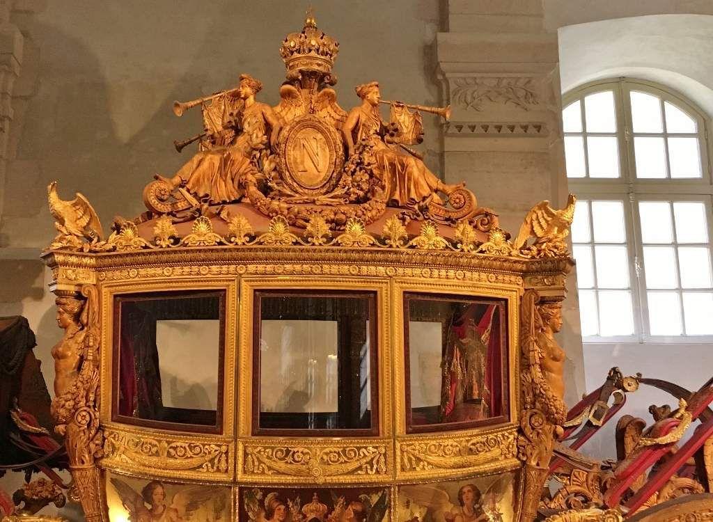 Carrosse Charles X Ecuries Versailles