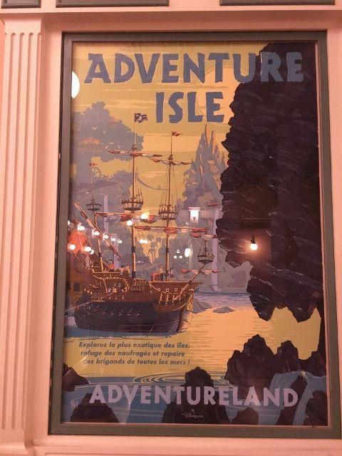 Pancartes à l'ancienne Disneyland