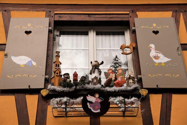 Barr et ses fenêtres décorées