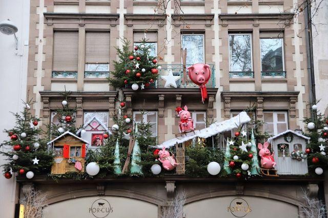 Strasbourg décorations de noel