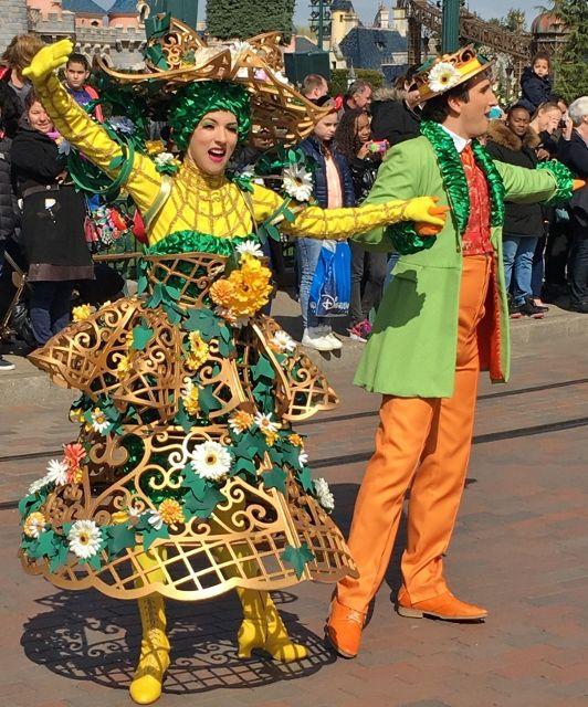 Danses printanières Parade Disneyland