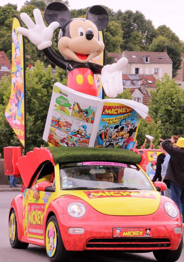 Caravane Pressade & journal de Mickey