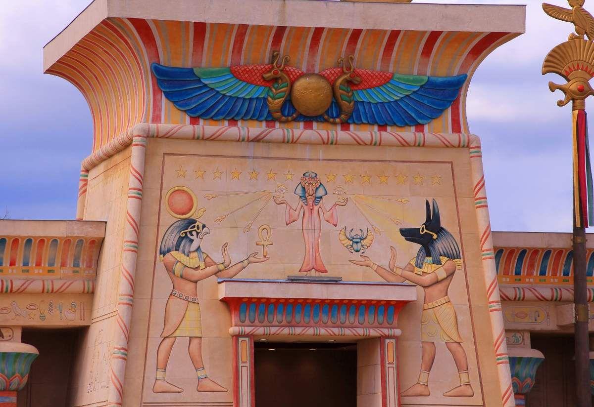 Parc Astérix, l'Egypte