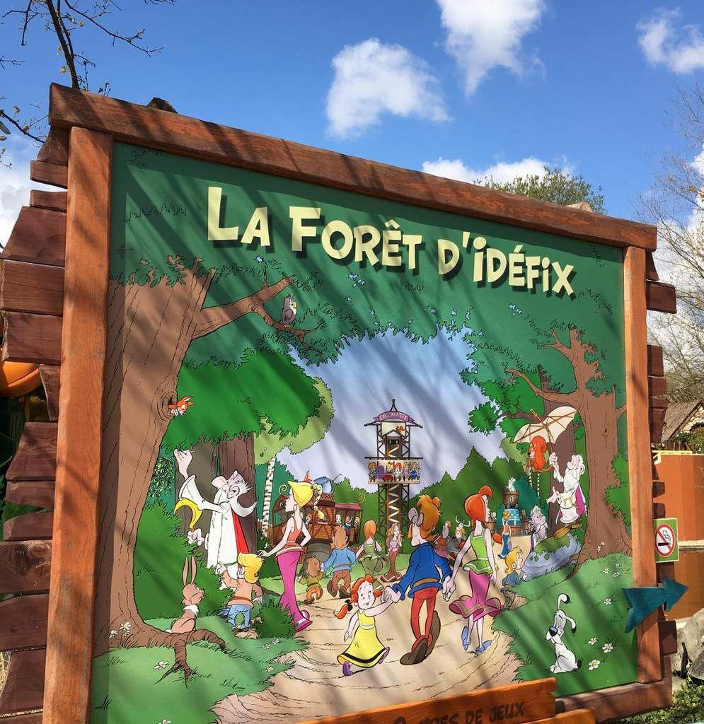 Parc Astérix, la forêt d'Idefix