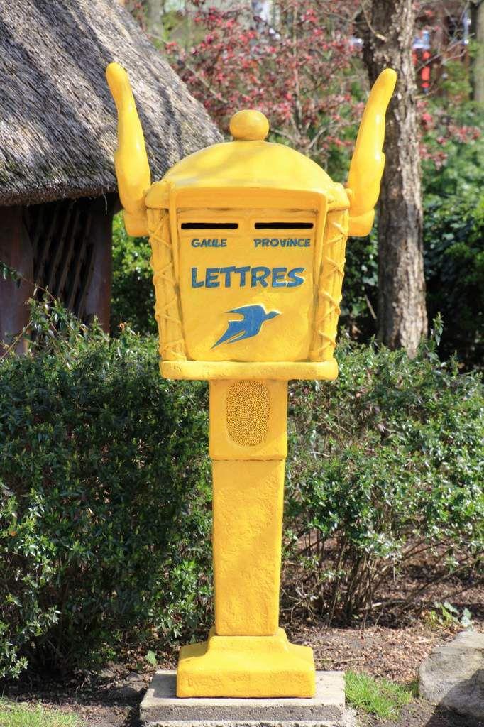 Parc Astérix, village gaulois