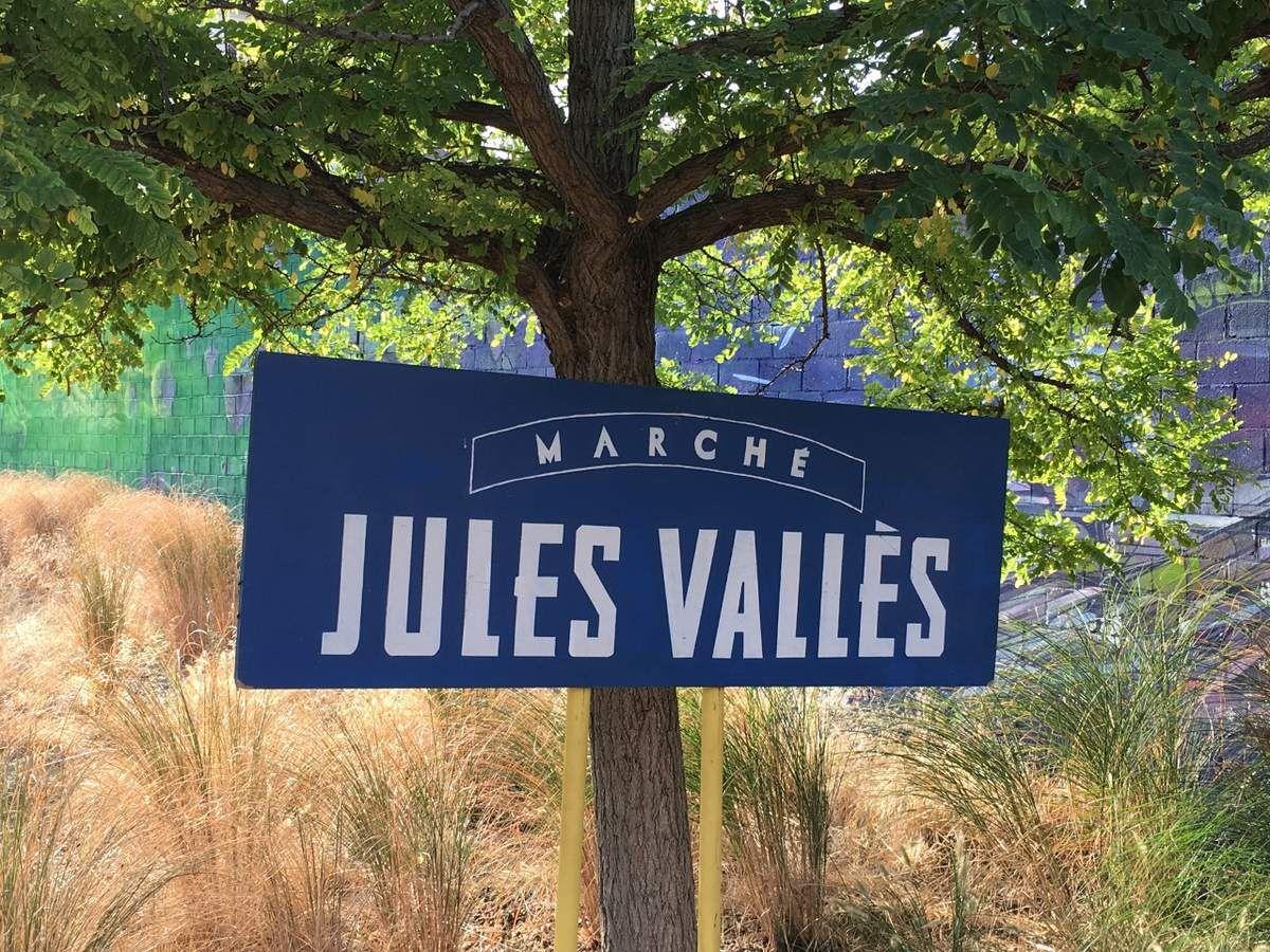 Marché Jules Vallès puces Saint Ouen
