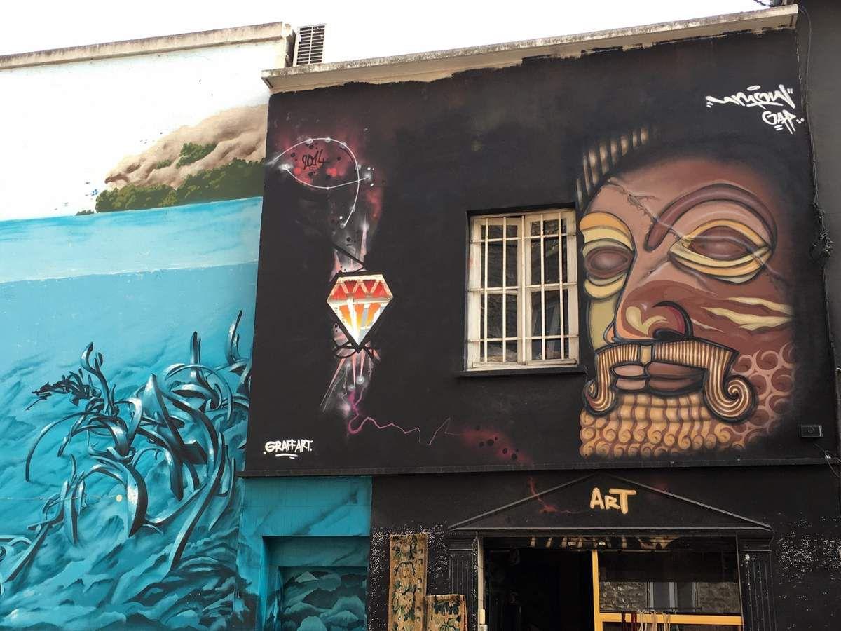 Street art à Saint Ouen