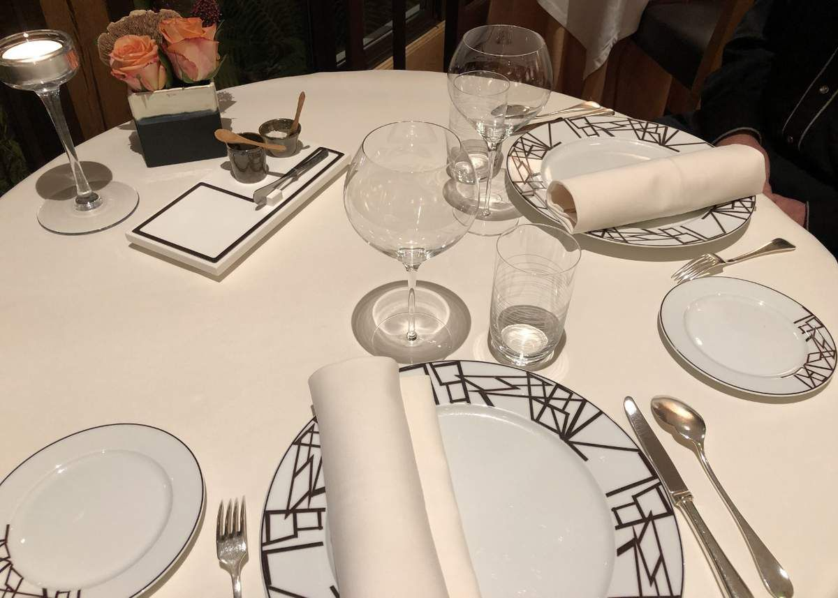 Diner chez Bernard Loiseau