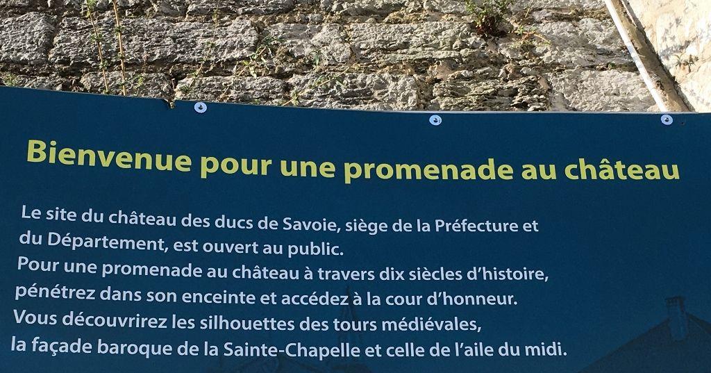Chateau de Chambéry