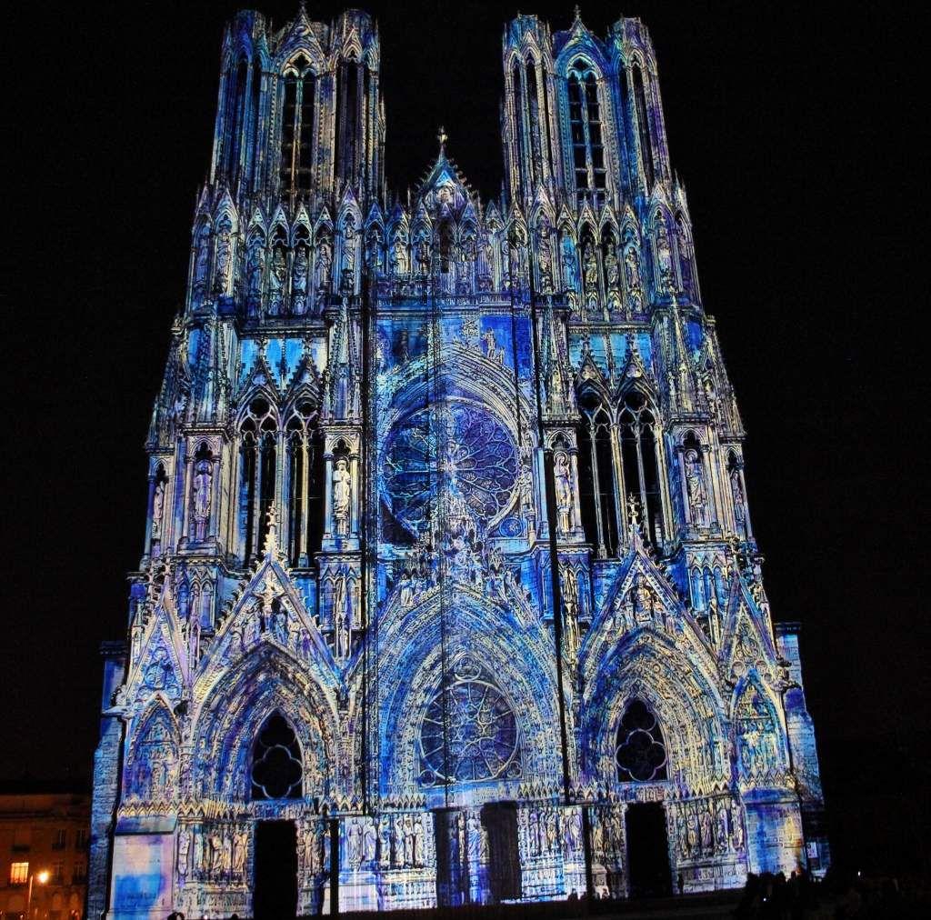 Cathédrale Reims son et lumière