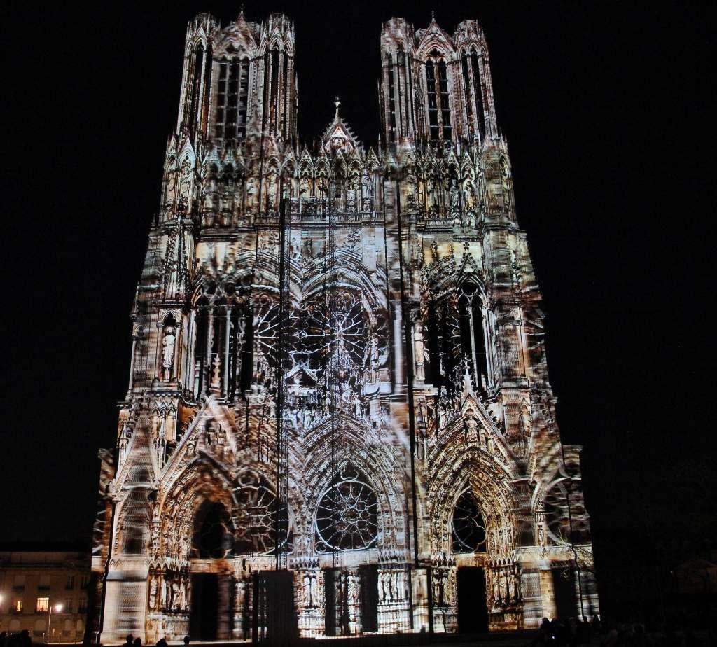 Rêve de couleurs - Cathédrale Reims