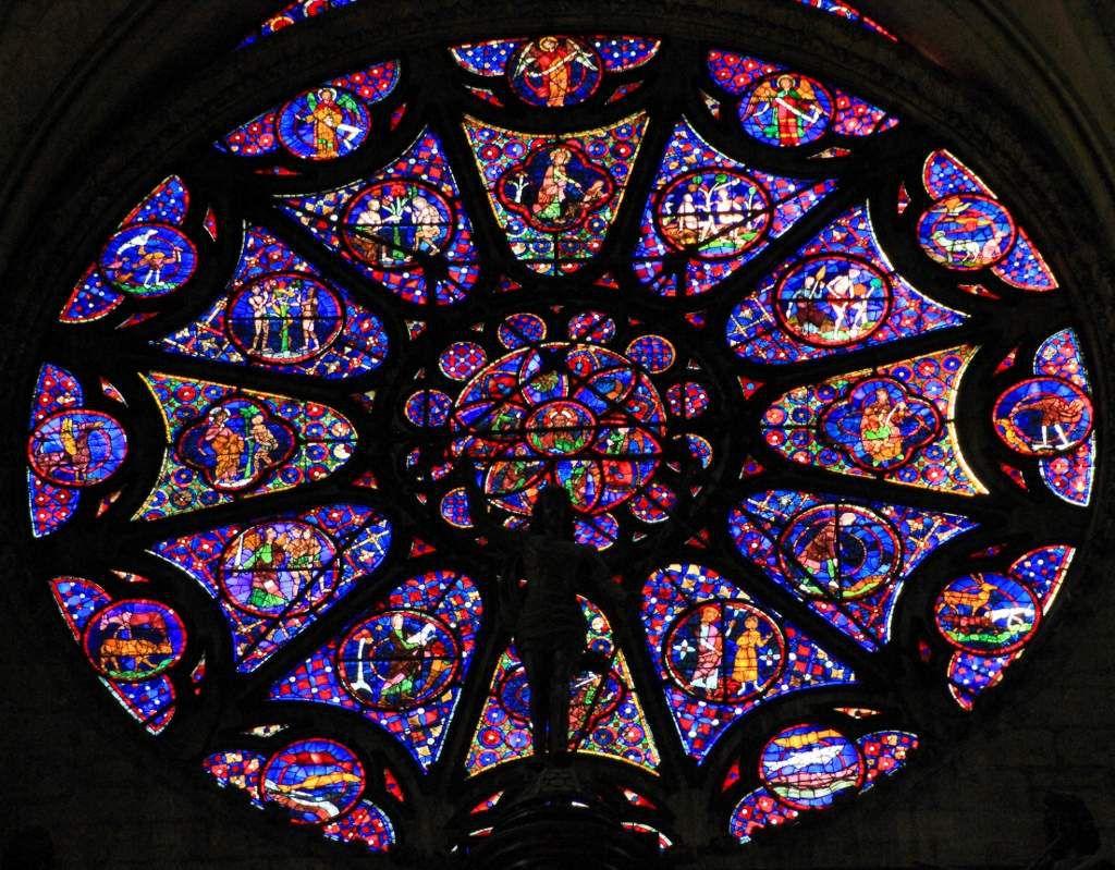 Cathédrale de Reims, les vitraux