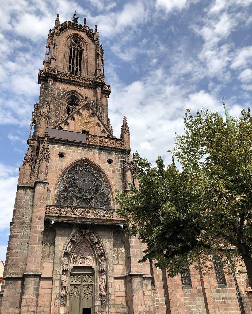 Selestat et son église