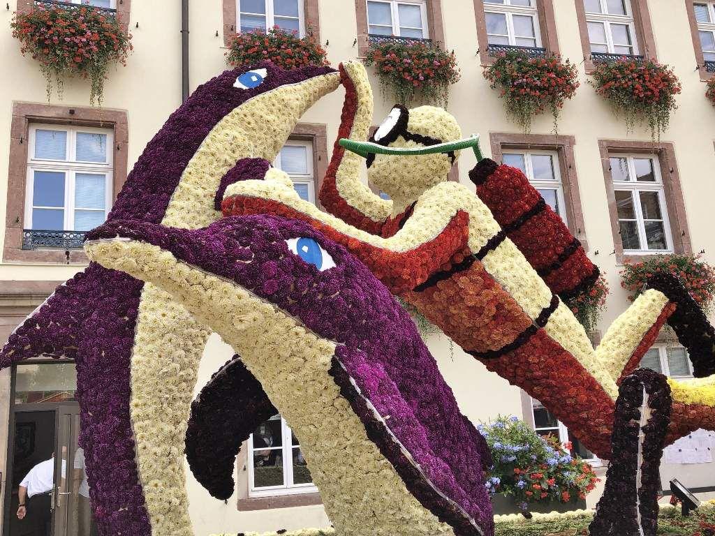 Corso fleurs Monde de la Mer Selestat