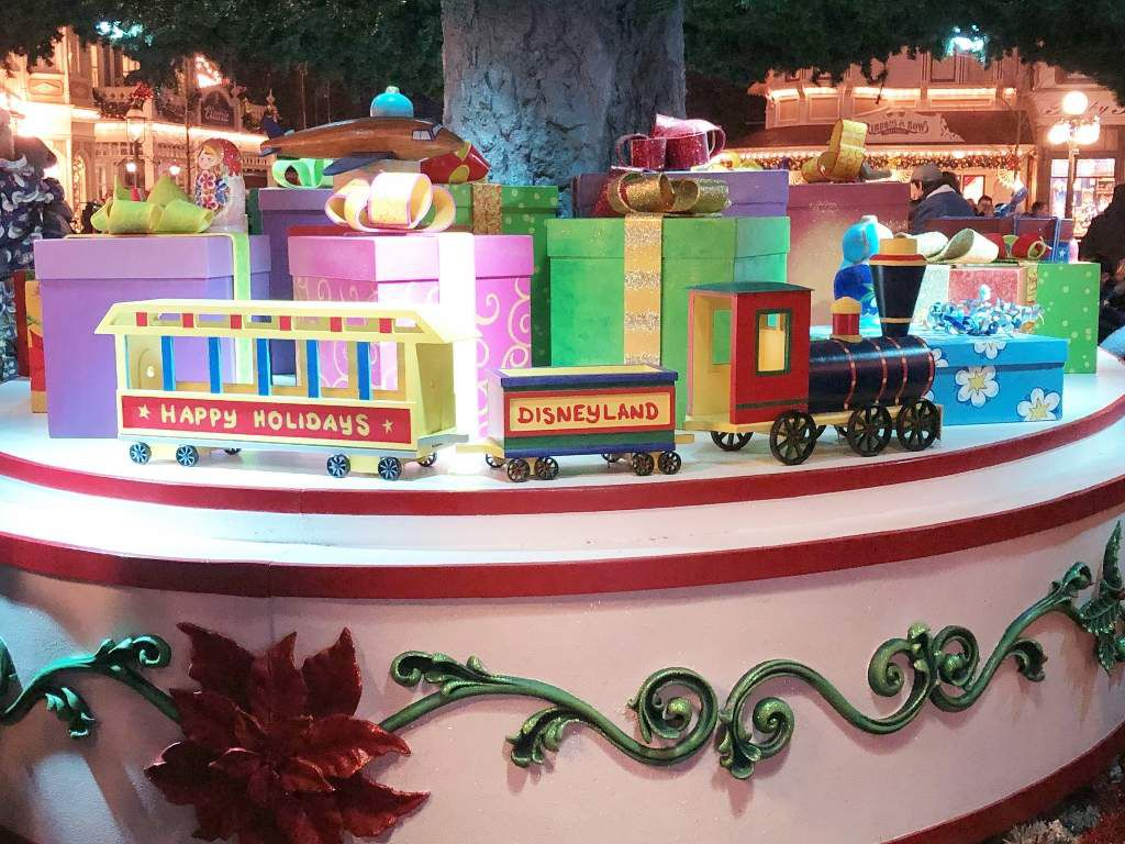 Les sapins de Noel de Disneyland